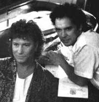 Paul Young and Ian Wilson photo